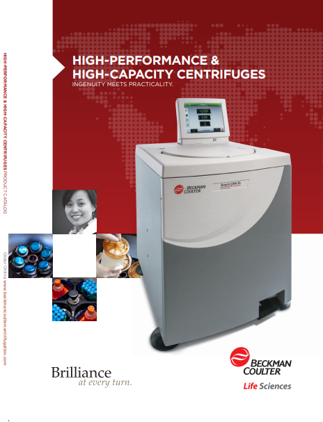 High-Performance & High-Capacity Centrifuges