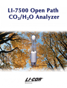 LI-7500 Open Path CO2/H2O Analyzer