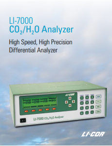 LI-7000 CO2/H2O Analyzer